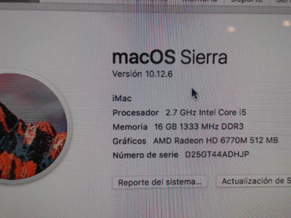 Picture of Apple Modelo: Mac Os Sierra - Publicado el: 03 Nov 2019
